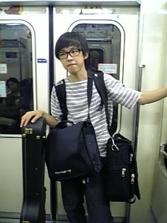 東京、電車移動