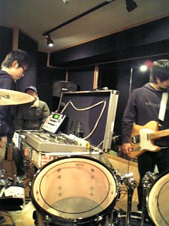 ライブ前日